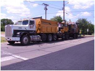 Resurfacing Trucks arrive